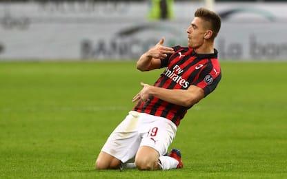 Bang Bang Piatek! Napoli ko, Milan in semifinale