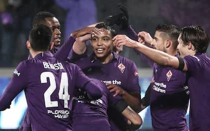 Fiorentina in semifinale, Roma umiliata 7-1