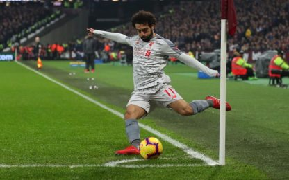 West Ham-Liverpool, offese razziste per Salah