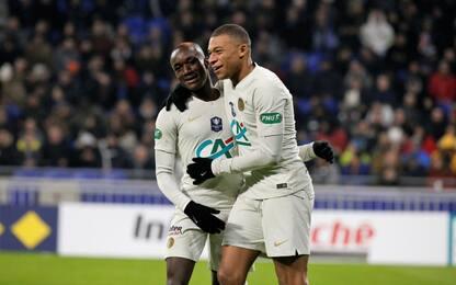 Coppa Francia, Psg ai quarti: 3-0 al Villafranche