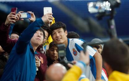 Espanyol, in 40 milioni davanti alla tv per Wu Lei