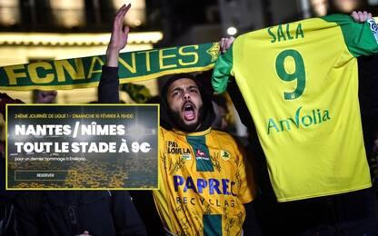 Nantes, omaggio a Sala: tutti i biglietti a 9 euro