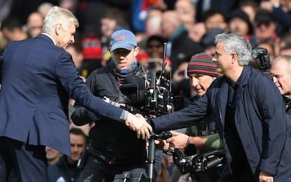 United ko? A difendere l'ex Mou ci pensa Wenger