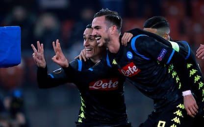 Il Napoli vede gli ottavi, netto 3-1 allo Zurigo