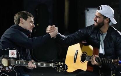 """Alisson chitarrista: """"Un concerto se vinciamo"""""""