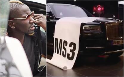 Sakho esagerato, l'auto-regalo è una Rolls-Royce