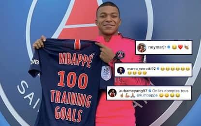 Mbappé: 100 gol in allenamento, ma i compagni…