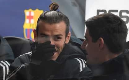 """Real, Courtois punge Bale: """"Non sta mai con noi"""""""