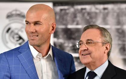 """Dalla Spagna: """"Solari via, Perez richiama Zidane"""""""