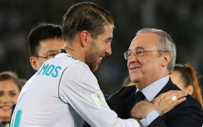 Real, scontro Ramos-Florentino nello spogliatoio