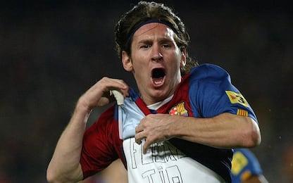 Accadde oggi: Tripletta al Real, la prima di Messi