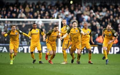 Semifinali FA Cup: City-Brighton e Watford-Wolves