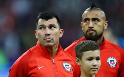 """Medel e Vidal: """"Non decidiamo noi convocati Cile"""""""