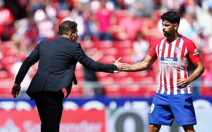 """Simeone: """"D. Costa rimanga. Aspetto Griezmann"""""""