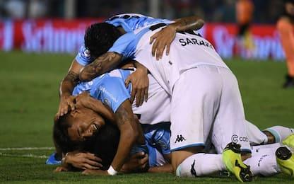 Argentina, Racing campione: festa Milito da ds