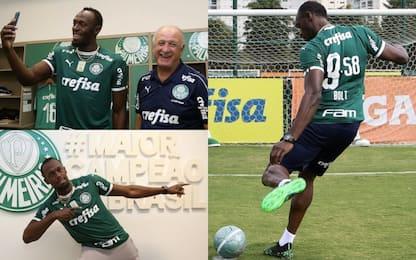 Bolt dal Palmeiras: doppio passo da urlo. VIDEO