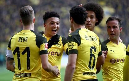 Sancho da record, il Borussia batte il Mainz 2-1