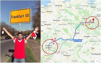 Tifoso Benfica va a Francoforte, ma sbaglia città