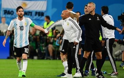 "Sampaoli: ""Ecco perché Messi soffre l'Argentina"""