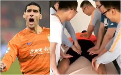 """Fellaini, il massaggio in Cina è """"estremo"""". VIDEO"""