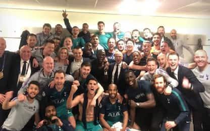 Tottenham in finale Champions, le reazioni social