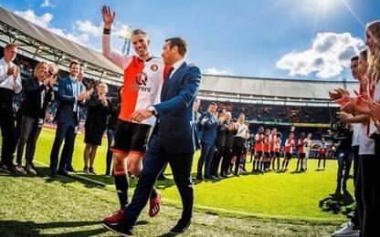 Van Persie si ritira, l'ultimo saluto al Feyenoord