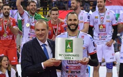 Volley, la Lube sbanca Perugia: campione d'Italia