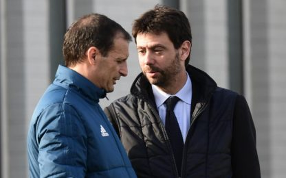 Allegri-Agnelli, alle 14 conferenza in streaming