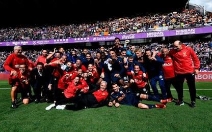 Valencia in Champions: i verdetti della Liga
