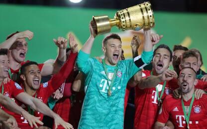 Coppa di Germania, vince il Bayern: 3-0 al Lipsia