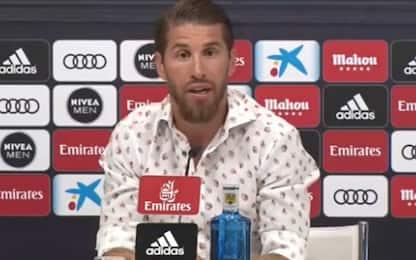 """Sergio Ramos: """"Resto al Real. Qui anche gratis"""""""