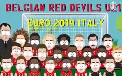 Euro U21, convocati Belgio in stile South Park
