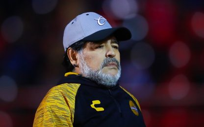 """Maradona: """"Vorrei allenare il  Manchester United"""""""
