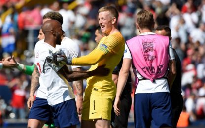 Pickford eroe, Inghilterra 3^ in Nations League