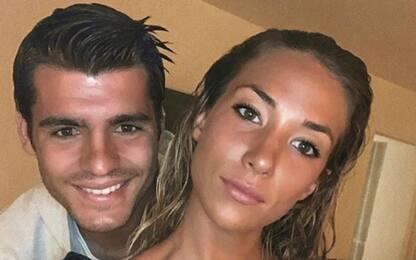 Ladri a casa Morata: paura per la sua famiglia