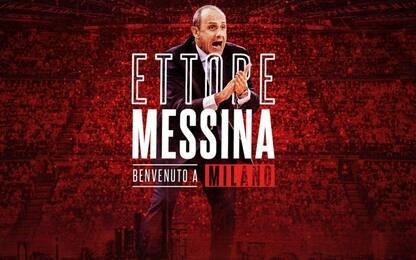 L'Olimpia cambia, ufficiale l'arrivo di Messina