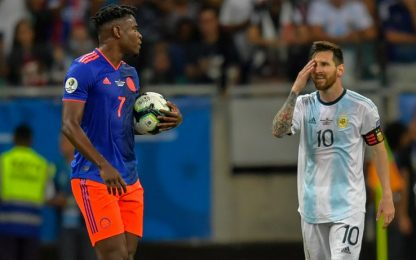 Messi non punge, Zapata sì: Argentina-Colombia 0-2
