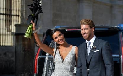 Sergio Ramos ha detto sì: le FOTO del matrimonio