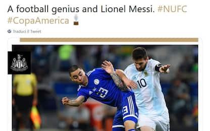 Il Newcastle deride Messi: il vero genio è Almiron