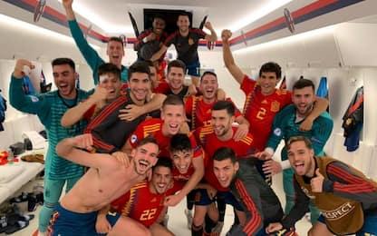 Spagna, manita alla Polonia e 1° posto nel girone