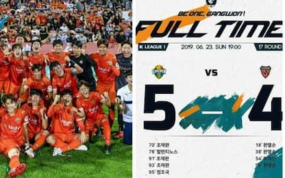 0-4 al 70', poi la rimonta: incredibile in Corea