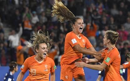 Martens trascina l'Olanda: ai quarti c'è l'Italia