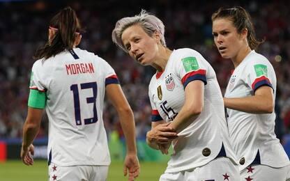 Doppia Rapinoe, Usa in semifinale: Francia ko 2-1