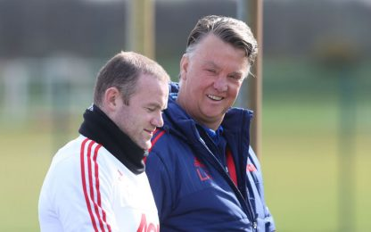 "Rooney tradisce Ferguson: ""Van Gaal il migliore"""