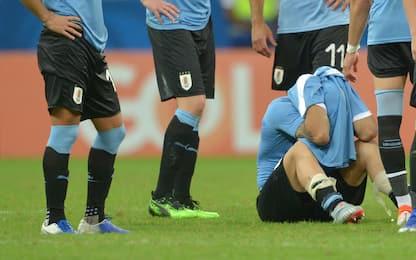 Uruguay e rigori, gioie e dolori. E Suarez piange