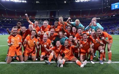 Groenen porta in finale l'Olanda: Svezia ko 1-0
