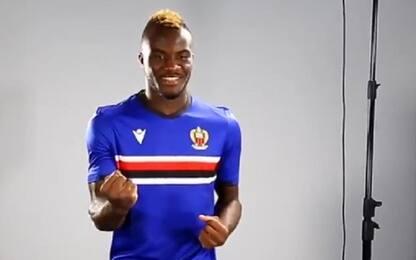 Nizza come la Sampdoria: la maglia è blucerchiata