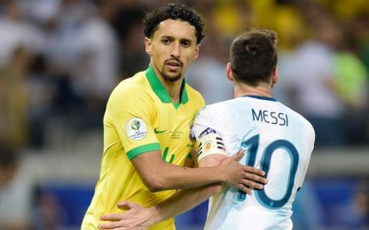 "Marquinhos: ""Avevo la diarrea ma ho marcato Messi"""