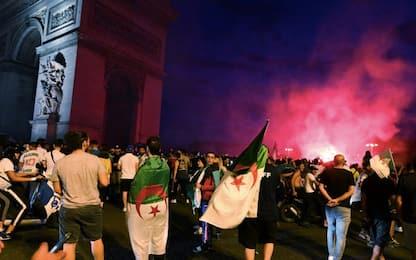 Algeria in semifinale, caos in Francia: 74 fermi
