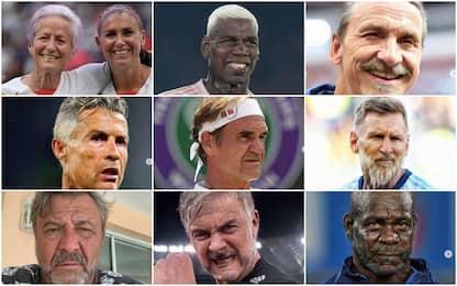 Gli sportivi invecchiano sui social: li riconosci?